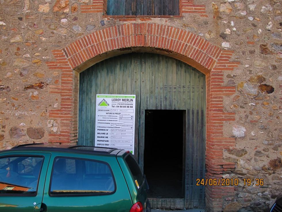 Affichage du permis de construire la grange loft d 39 athayuyu for Transformation grange en habitation permis de construire