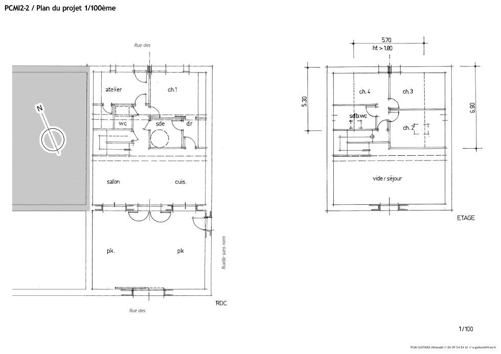 dossier de demande de permis de construire la grange loft d 39 athayuyu. Black Bedroom Furniture Sets. Home Design Ideas