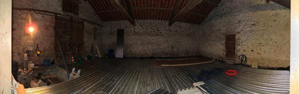 semaine 5 le plancher collaborant est en place la. Black Bedroom Furniture Sets. Home Design Ideas