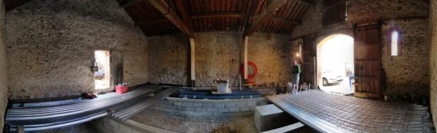semaine 4 tests du plancher bac acier la grange loft d 39 athayuyu. Black Bedroom Furniture Sets. Home Design Ideas
