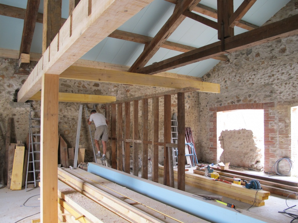 La grange loft d 39 athayuyu - Renovation de grange ...