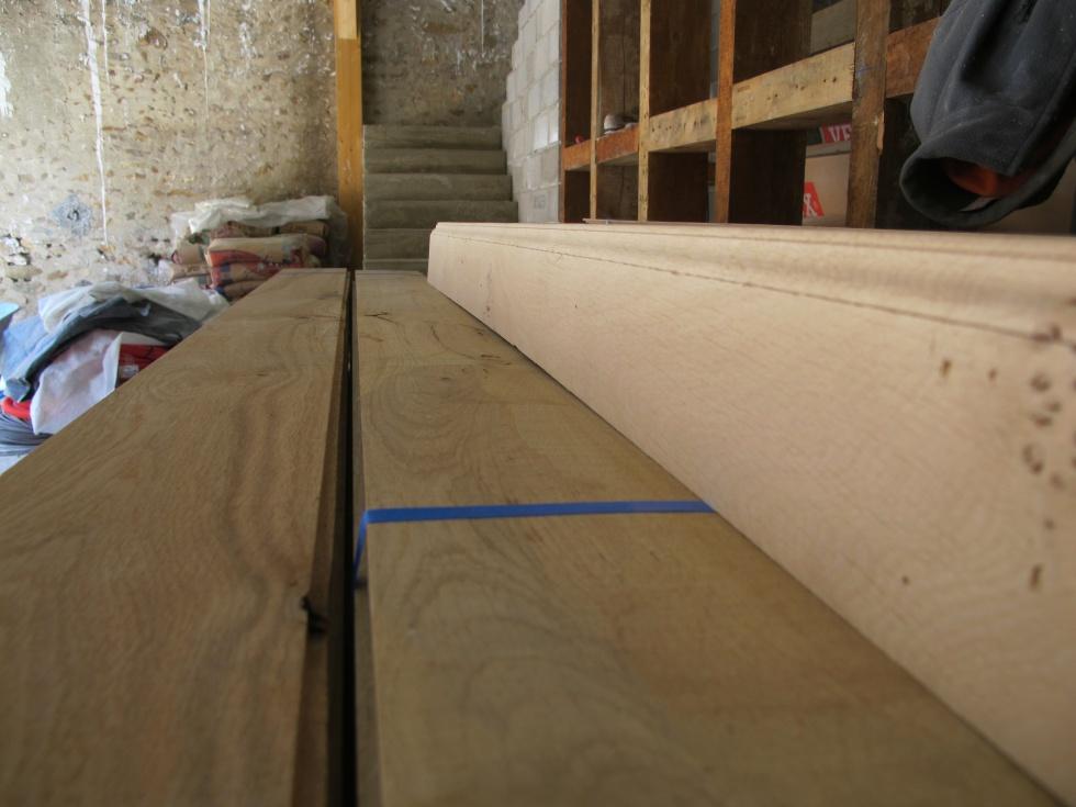 La parqueterie de montpezat la grange loft d 39 athayuyu for Plinthe renovation