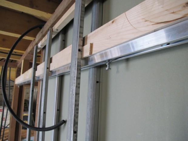 Semaine 39 cesi portes coulissantes et plafond wc la grange loft d 39 a - Porte coulissante mecanisme ...