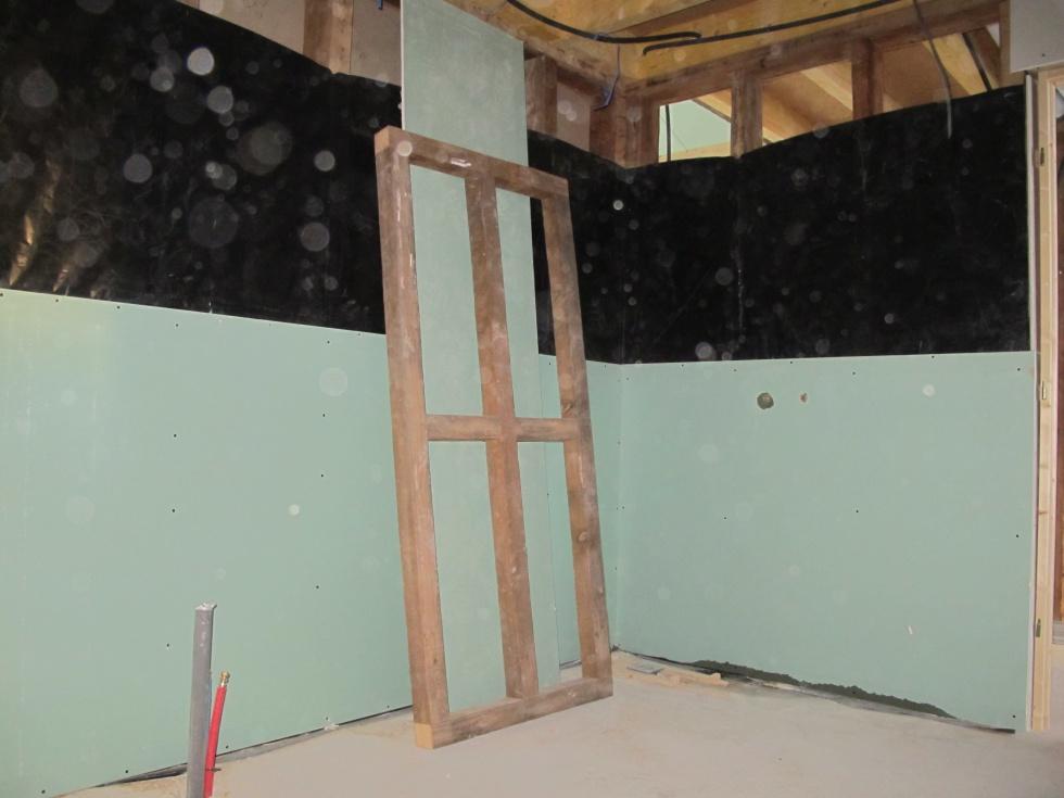 week end 39 isolant plaquage lectricit et appro la grange loft d 39 athayuyu. Black Bedroom Furniture Sets. Home Design Ideas
