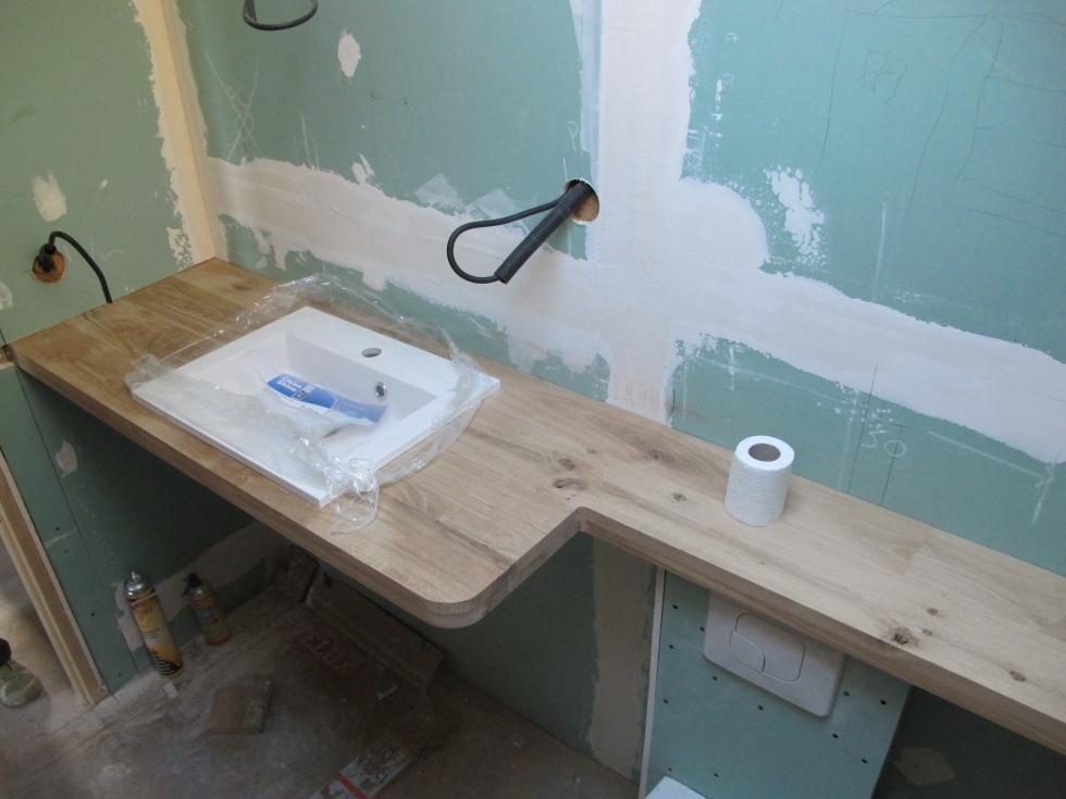 semaine 40 une salle de bain en bois la grange loft d 39 athayuyu. Black Bedroom Furniture Sets. Home Design Ideas