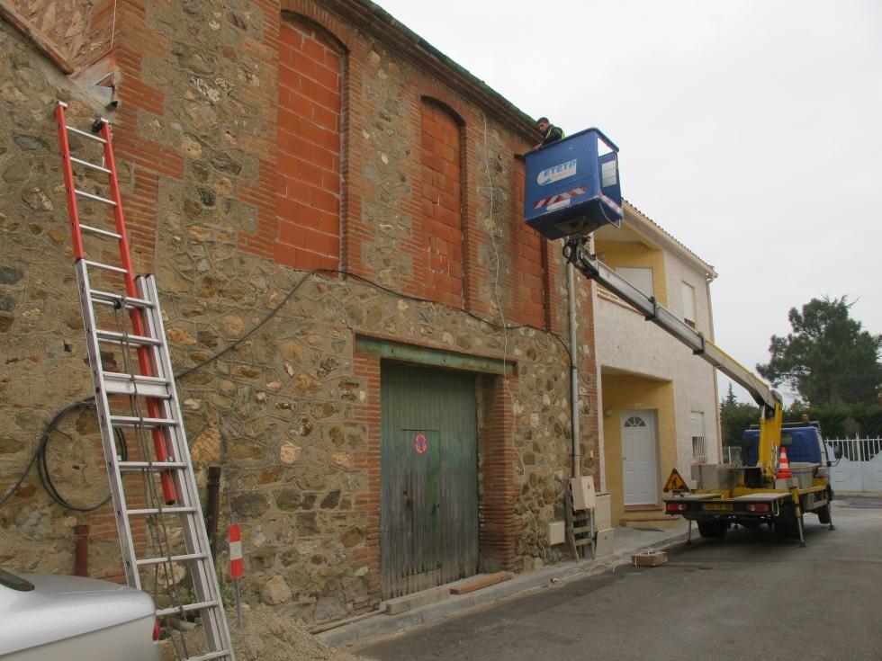 renovation maison ligne telephonique